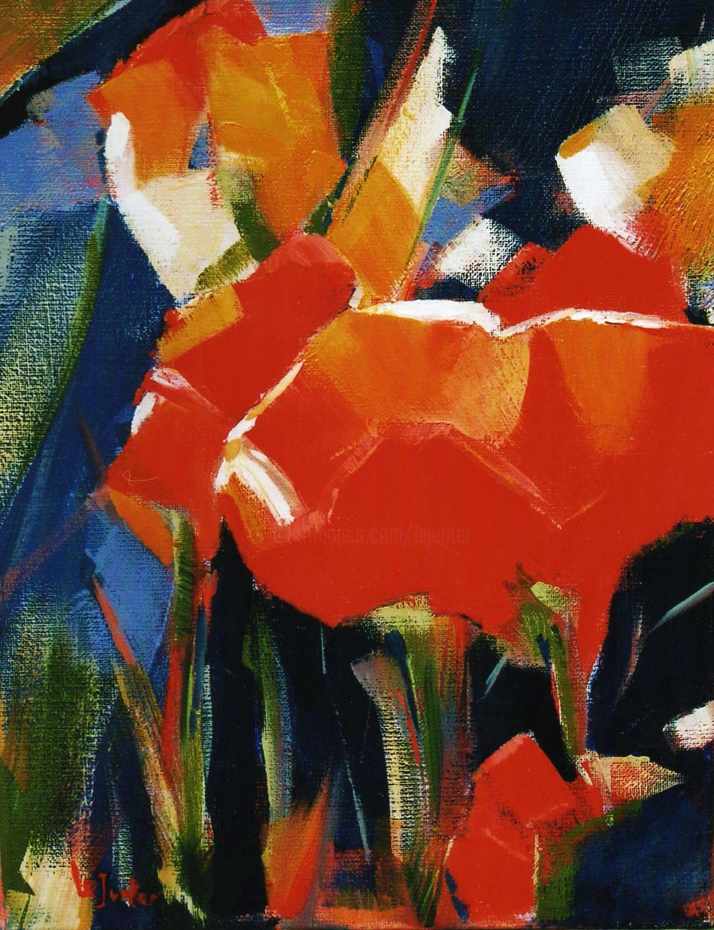 Jean-Noël Le Junter - Tulipes