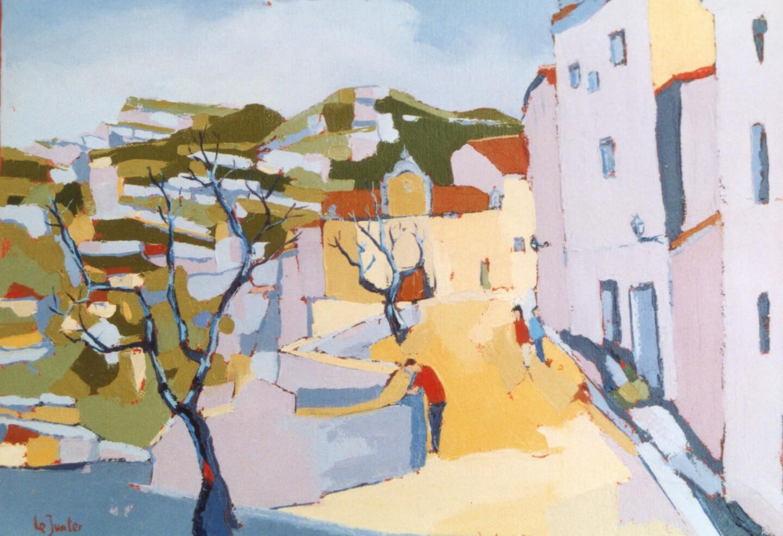 Jean-Noël Le Junter - Rue des Baux de Provence