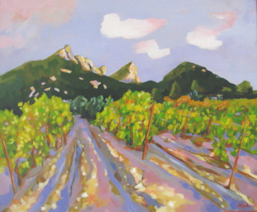 Vignoble du Pic Saint-Loup .