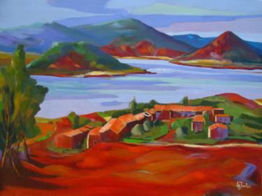 Les Vailhés et le lac du Salagou