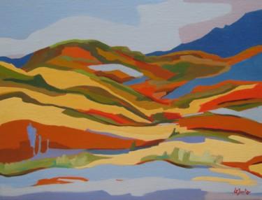 Rives d'Octon, paysage du Salagou