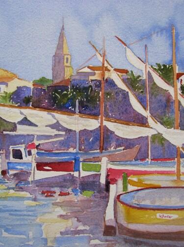 Le port de Sanary et ses pointus