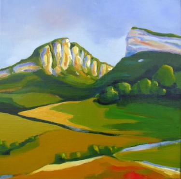 Le Pic Saint-Loup et l'Hortus