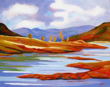 Bord du Lac du Salagou 2, paysage
