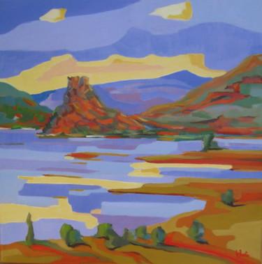 le Dyke de la Roque, paysage du Salagou