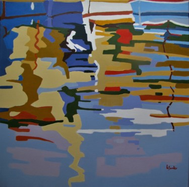 Reflets dans le port n°5