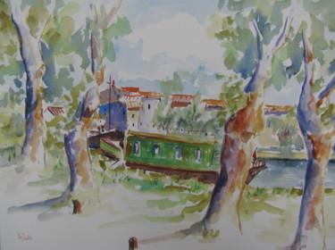 Le canal du Midi au Somail