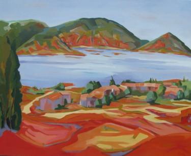 Les Vailhés, paysage du Salagou