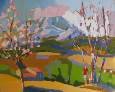 le Pic Saint-Loup au printemps