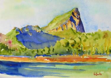 le Pic Saint-loup vers Valflaunès