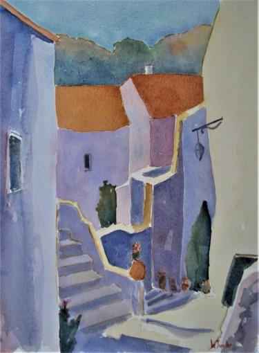 Les Matelles, rue du château